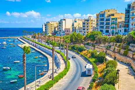 Bargain Late Holidays - Escape with a three, five or seven nights getaway to Malta Now with the ability to choose your flight - Save 0%