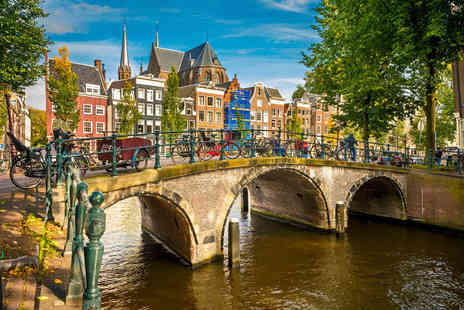 Fly Trip Travel - Escape with a two or three nights getaway to Amsterdam Now with the ability to choose your flight - Save 0%