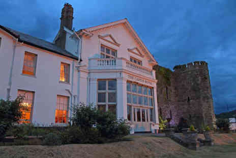 The Castle Of Brecon Hotel - Overnight stay for two people with breakfast and a two course dinner each - Save 47%