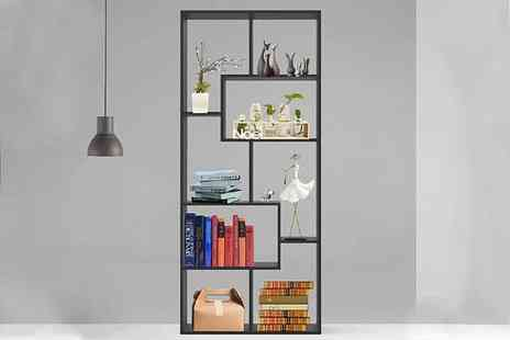 Eurotrade - Wooden open home shelving unit - Save 68%