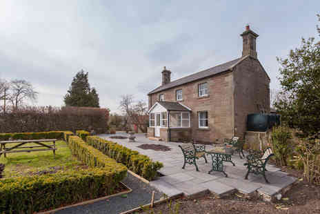 Lucker Mill house - Overnight Northumberland stay for two people with afternoon tea and breakfast - Save 33%