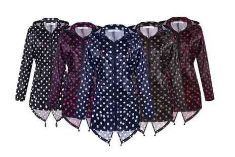 BluFish - Polka dot raincoat choose from five colours - Save 70%