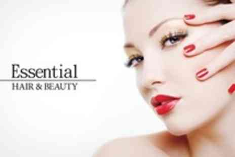 Essential Hair and Beauty - Shellac Manicure and Pedicure With Brow Tint and Shape - Save 60%