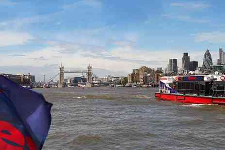 City Cruises - Thames River Cruise 24hr Pass See the City Your Way - Save 45%