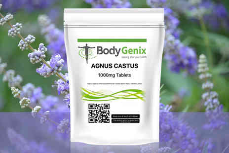 BodyTronix - Four month supply of chasteberry agnus castus fruit tablets supplements - Save 0%