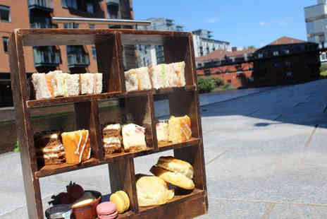 Bardolino - Traditional canalside afternoon tea for two people - Save 49%