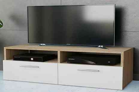 Eurotrade - lowboard wooden TV stand - Save 57%