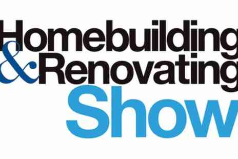 Homebuilding & Renovating Show - One or two day tickets from 4th October 2019 To 28th June 2020 - Save 49%