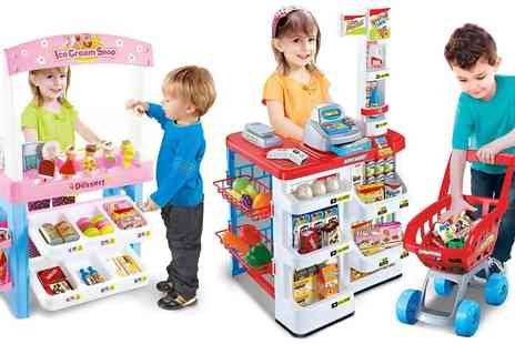 Groupon Goods Global GmbH - Childrens Supermarket or Sweets Shop Play Set - Save 0%