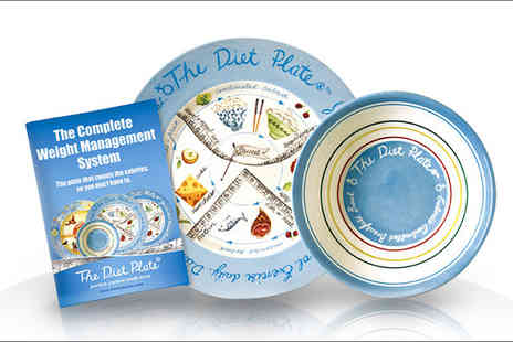 The Diet Plate - Complete Weight Management System for men, women or children - Save 62%