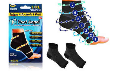 Avant Garde - Pair of unisex mesh compression socks choose from two sizes - Save 0%