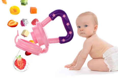 Spezzeee - Baby pacifier choose from three colours and sizes - Save 56%