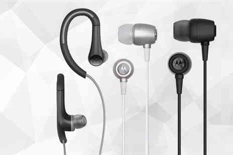 Day 2 Day Accessories - Pair of Motorola ear buds - Save 0%