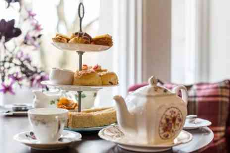 Mercure Aberdeen Caledonian Hotel - Gin and Tonic Afternoon Tea for Two or Four - Save 31%