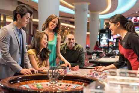 Genting Casino Bristol - Main Course, Drink and £5 Playing Chip for Two or Four - Save 60%