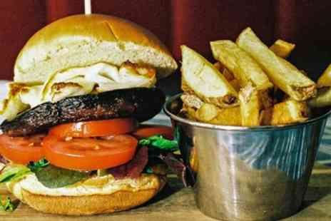 Drouthy Fox - Burger Meal with Hand Cut Chips for Two or Four - Save 54%