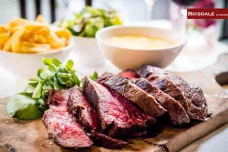 Boisdale of Canary Wharf - Choice of Burger with Chips and Glass of White Wine for Up to Four - Save 48%
