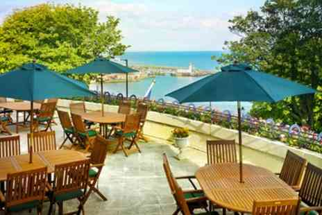 The Royal Scarborough - 1 or 2 Nights for Two with Breakfast, 3 Course Buffet Dinner and a Bottle of Wine - Save 0%