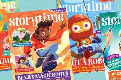 Luma Creative - Storytime Magazine Subscription Just 6 months of Wonderful Stories - Save 67%