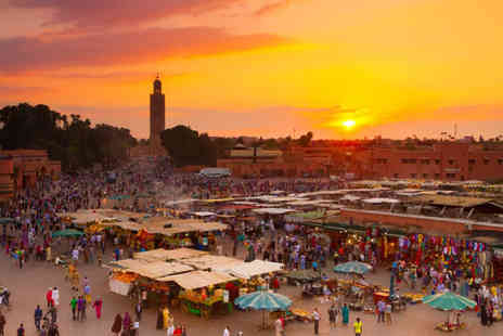 Super Escapes Travel - Three nights half board Marrakech holiday with return flights - Save 29%