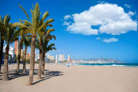 Super Escapes Travel - Three nights self catered Benidorm apartment stay with return flights - Save 34%