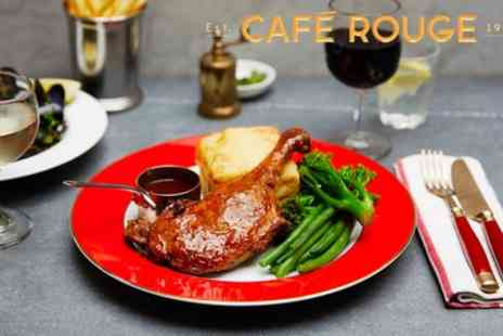 Cafe Rouge - Two or Three Course Meal for Two - Save 55%