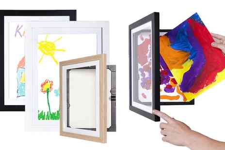 Groupon Goods Global GmbH - My Little DaVinci A4 Wooden Picture Frame - Save 0%