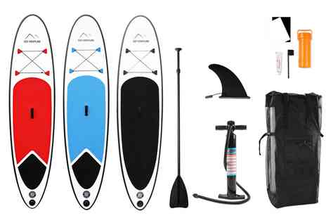 Groupon Goods Global GmbH - Go Venture Stand Up Paddle Board and Accessories With Free Delivery - Save 0%