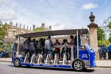 Oxford Cycle Bus Tour - Pedal powered bus tour of Oxford - Save 50%