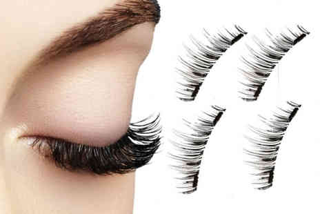 Avant Garde Brands - Dual Magnetic 3D Double Eyelashes - Save 77%