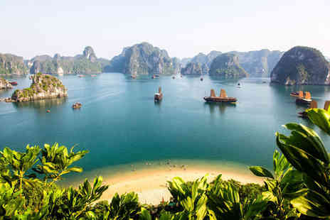 Travel Center - Six nights Vietnam adventure with hotel stays, Halong Bay Cruise, selected meals, tours and internal and external flights - Save 25%