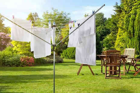 Direct 2 public - 50m Rotary Clothes Dryer - Save 73%