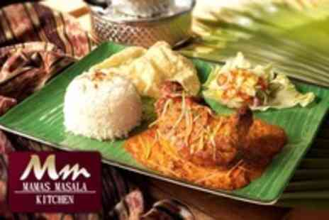 Mamas Masala Kitchen - Indian Cuisine For Two or Four Two Course Meal and Poppadoms - Save 68%