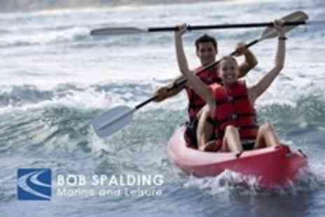 Bob Spalding Marine - Kayak Hire For One - Save 65%