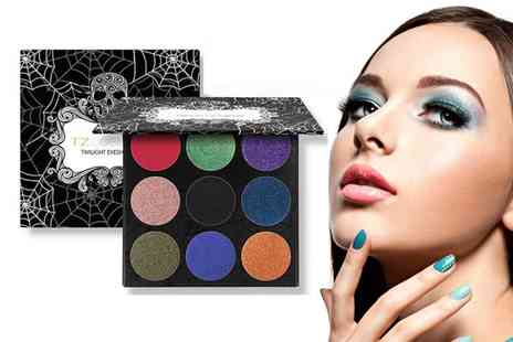 Litnfleek - TZ skull eyeshadow palette - Save 70%