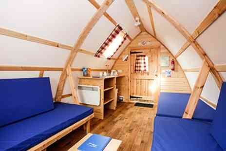 Wigwam at NDAC - Two Nights Wigwam Stay for Two People - Save 48%