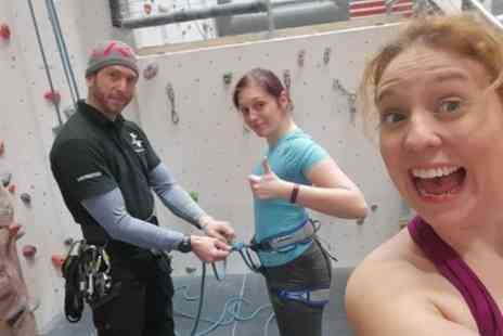 Up and Under Adventures - Indoor Climbing Taster Session - Save 0%