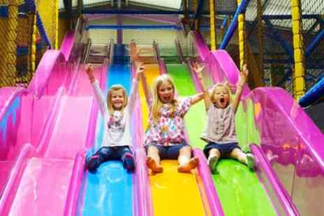 The Fun Factor - Indoor Play Centre Entry for One, Two or Four - Save 50%