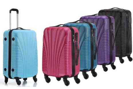 Chimp Online - Ultra light hard shell cabin luggage Choose from four colours - Save 60%