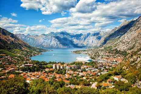 Bargain Late Holidays - Five Star Three nights Montenegro holiday with breakfast and return flights - Save 30%