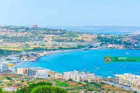 Broadway Travel - Four Star Escape with a four, five or seven nights all inclusive getaway to Malta Now with the ability to choose your own flight - Save 0%
