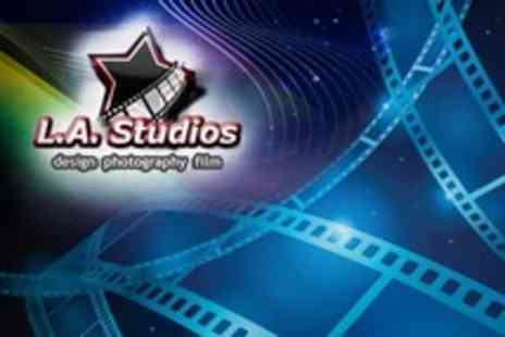 LA Studios - Film Making Day Course - Save 83%