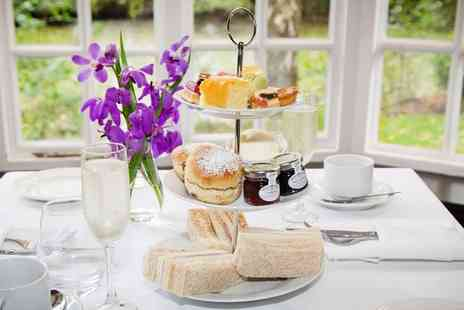 Mere Court Hotel & Conference Centre - Elegant country house afternoon tea & bubbly for 2 - Save 42%