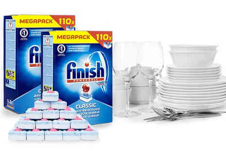 Avant Garde Brands - 110 Finish Powerball Dishwasher Tablets - Save 71%