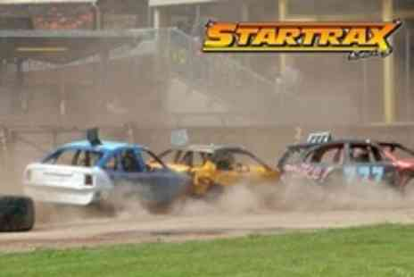 Startrax Racing - Banger Racing Family Ticket With Two Programmes and Drink - Save 0%