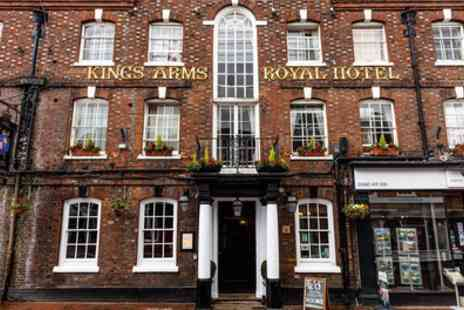 Kings Arms and Royal Hotel - Double Room for Two with Breakfast and Options on Dinner - Save 43%