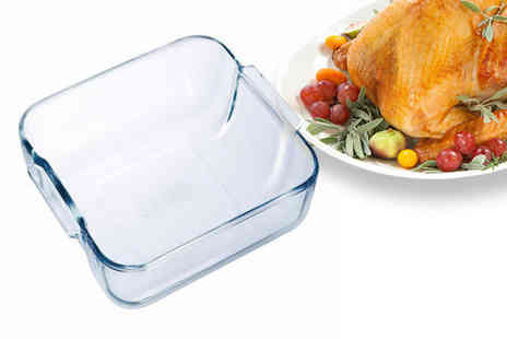 Dealberry - One Pyrex glass square roaster - Save 77%