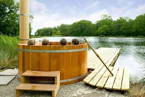 Feather Down Farms - Two nights luxury hot tub glamping stay for up to six people - Save 50%