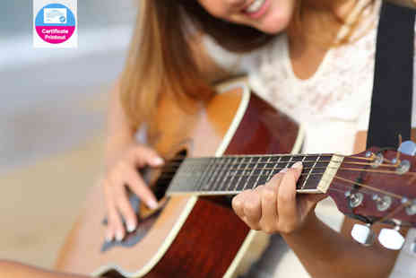 Live Online Academy - Online diploma to guitar basics course - Save 95%