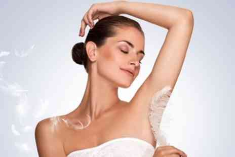 Pristine Beauty - Up to Six Sessions of Laser Hair Removal on Small, Medium or Large Area - Save 61%